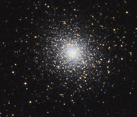 Messier 5 taken with nb4stars